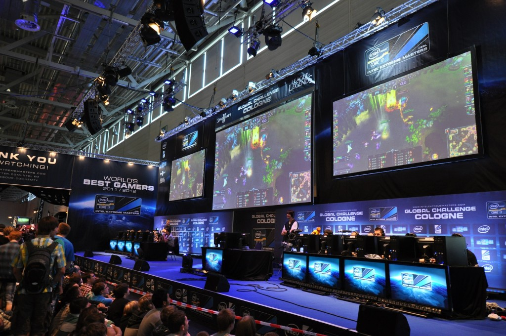 eSports: Showmatch on Gamescom Cologne
