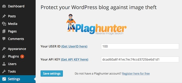 Plaghunter-WordPress-Plugin